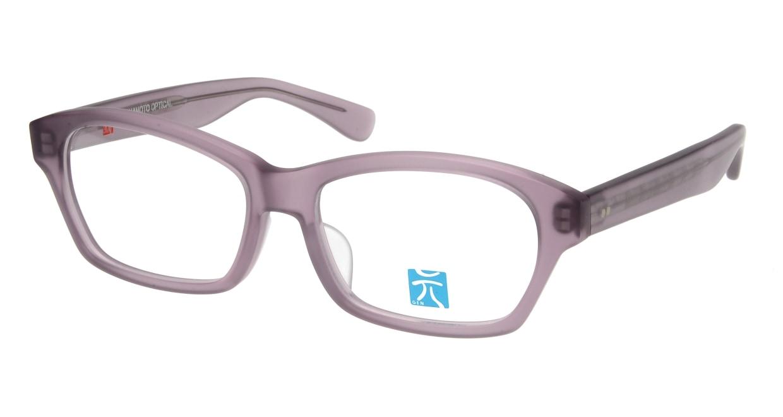 元 GEN66-Purple Matte [鯖江産/スクエア/紫]