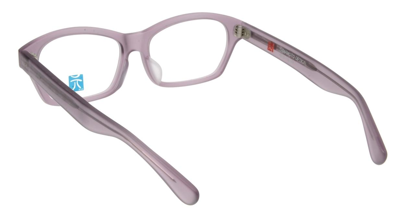元 GEN66-Purple Matte [鯖江産/スクエア/紫]  2