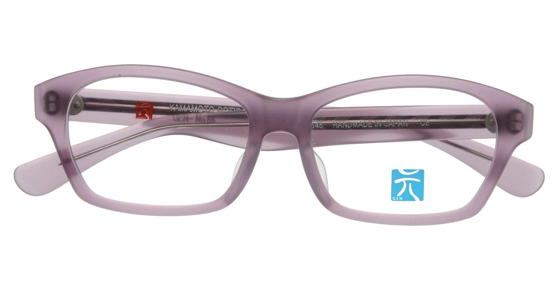 元 GEN66-Purple Matte [鯖江産/スクエア/紫]  3