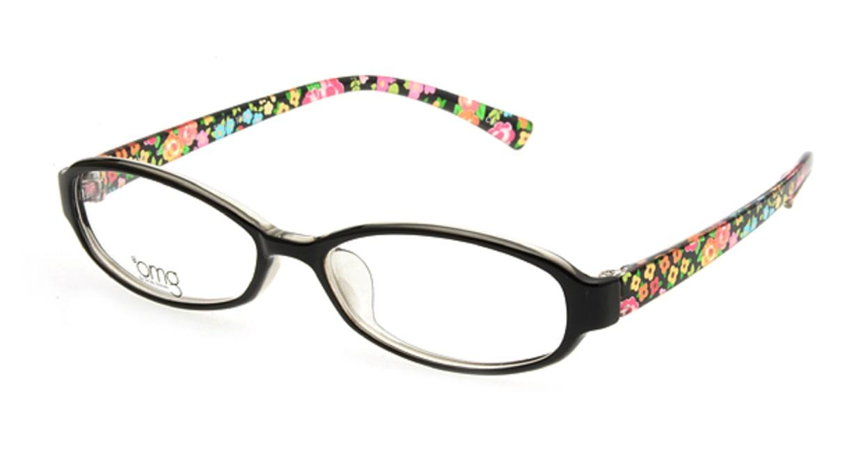 プラスオーエムジー ピーシーレンズセット home-omg-015-1 フルリム 黒 フレーム  メガネのオーマイグラス_0