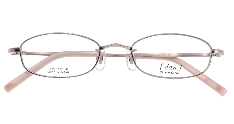 ドゥアン D101-2 [メタル/鯖江産/スクエア/ピンク]  3