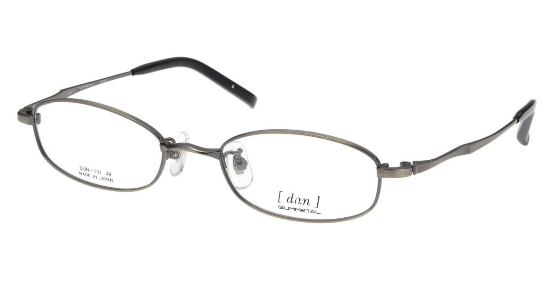 ドゥアン D101-5 [メタル/鯖江産/スクエア/グレー]