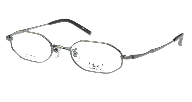 ドゥアン D104-09 [メタル/鯖江産/スクエア/グレー]
