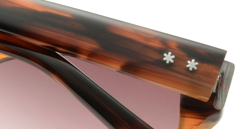 オウル opticwarlock GL009 Frank-3.BROWN DEMI [スクエア]  4
