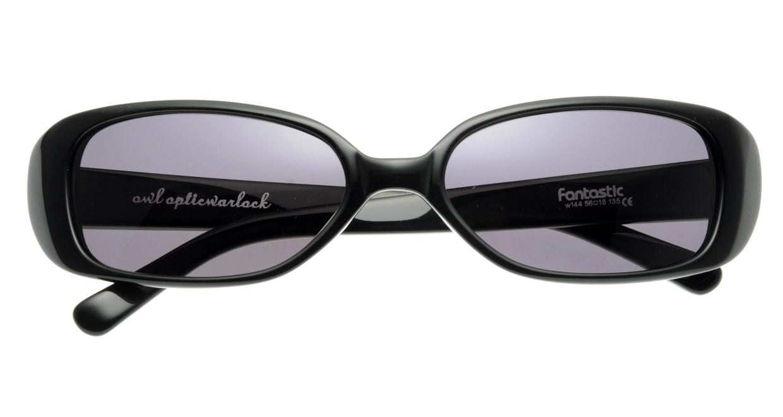 オウル opticwarlock GL004 Fantastic-1.BLACK LENS-SMOKE [スクエア]  3