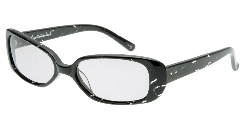 オウル opticwarlock GL004 Fantastic-2.BLACK MARBLE [スクエア]