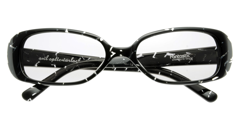 オウル opticwarlock GL004 Fantastic-2.BLACK MARBLE [スクエア]  3