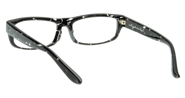オウル opticwarlock GL002 Noble-2.BLACK MARBLE [黒縁/スクエア]  2