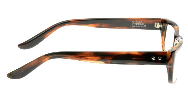 オウル opticwarlock GL002 Noble-3.BROWN DEMI-CLEAR [スクエア/べっ甲柄]  1