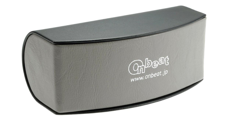 オンビート ONB-307-G08X-57 [メタル/鯖江産/ハーフリム/スクエア/茶色]  5