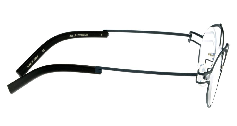 オンビート ONB-331-NV-43 [メタル/鯖江産/なし/丸メガネ/青]  1
