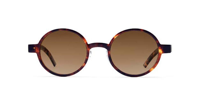 TYPE Futura Light Tortoise Sunglasses [鯖江産/ラウンド]