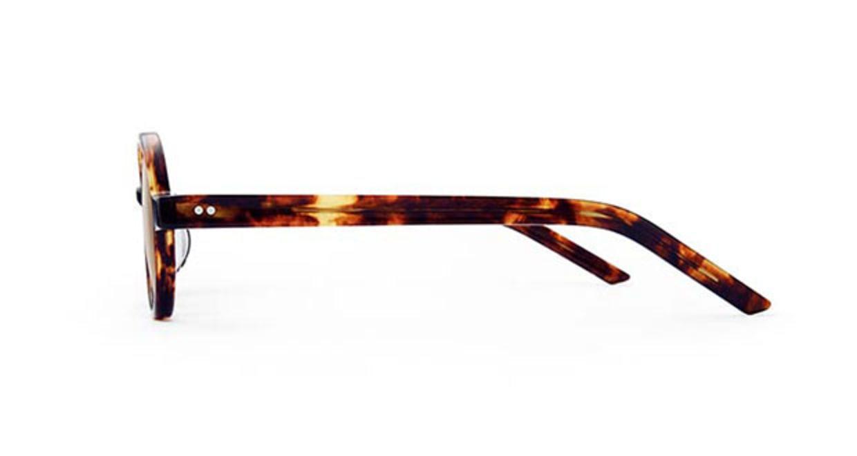 TYPE Futura Light Tortoise Sunglasses [鯖江産/ラウンド]  1
