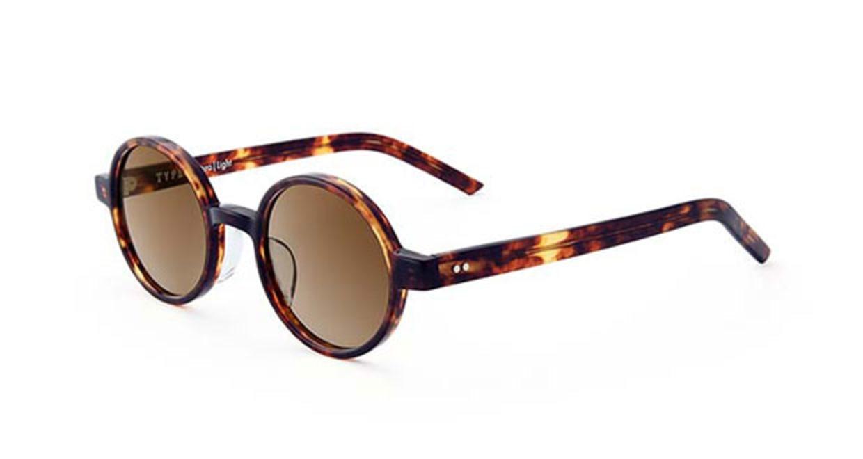 TYPE Futura Light Tortoise Sunglasses [鯖江産/ラウンド]  2
