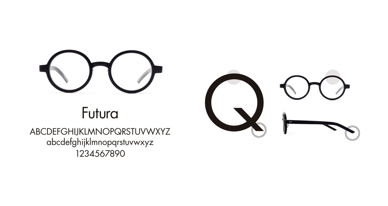 TYPE Futura Light Clear Sunglasses [鯖江産/ラウンド]  3