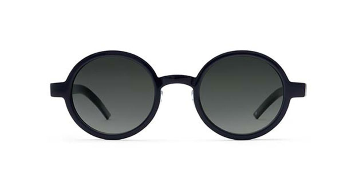 TYPE Futura Regular Black Sunglasses [鯖江産/ラウンド]