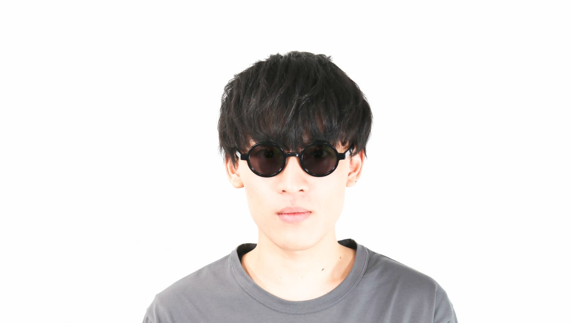 TYPE Futura Regular Black Sunglasses [鯖江産/ラウンド]  4