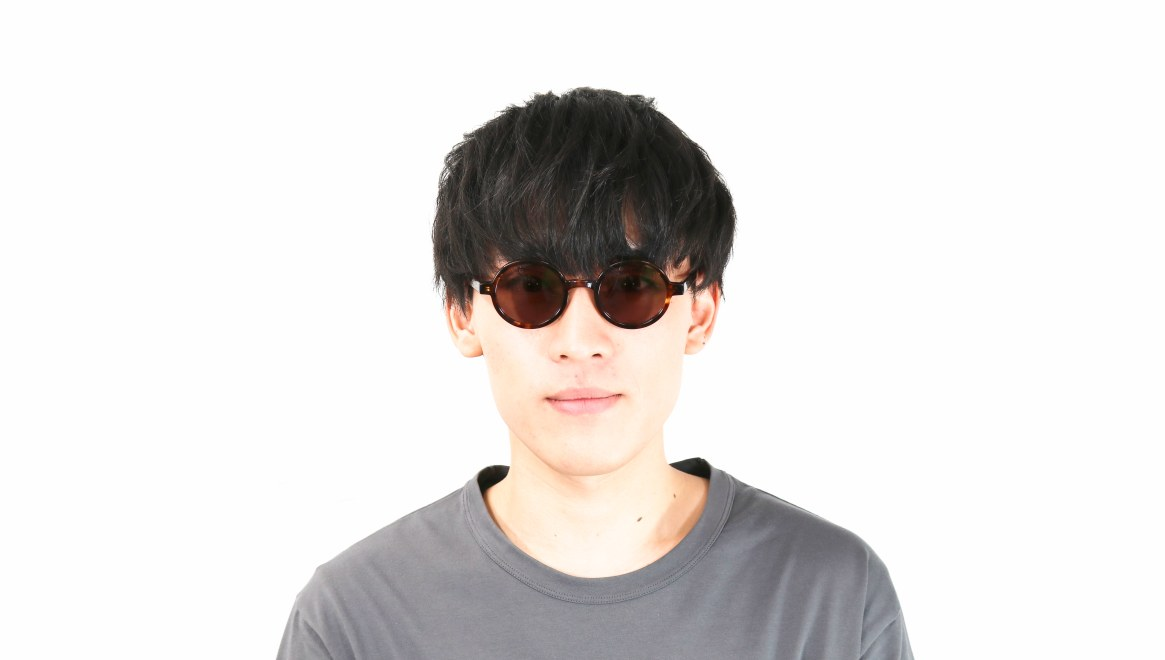 TYPE Futura Regular Tortoise Sunglasses [鯖江産/ラウンド]  4