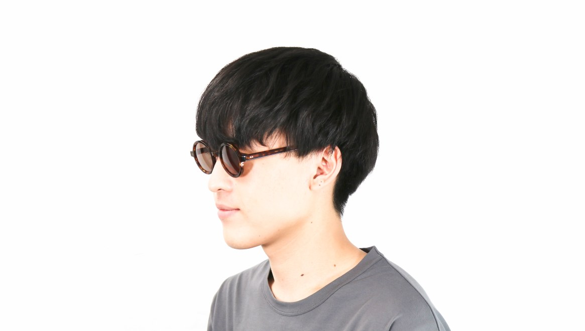TYPE Futura Regular Tortoise Sunglasses [鯖江産/ラウンド]  5