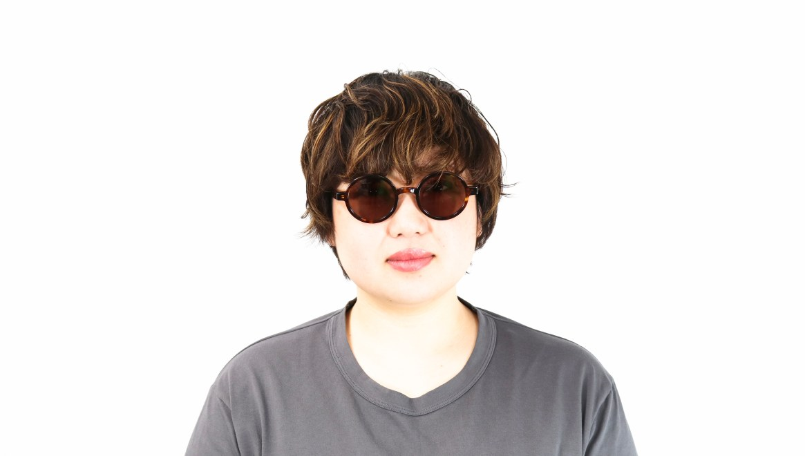 TYPE Futura Regular Tortoise Sunglasses [鯖江産/ラウンド]  6