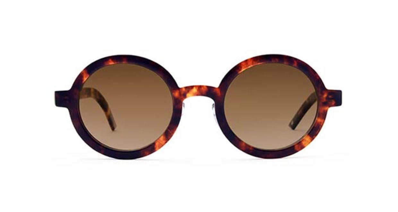 TYPE Futura Bold Tortoise Sunglasses [鯖江産/ラウンド]