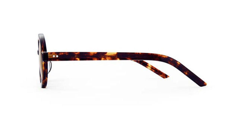 TYPE Futura Bold Tortoise Sunglasses [鯖江産/ラウンド]  1