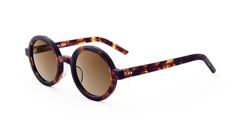 TYPE Futura Bold Tortoise Sunglasses [鯖江産/ラウンド]  2