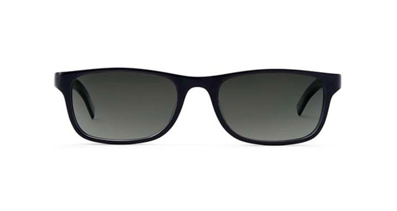 TYPE Din Light Black Sunglasses [鯖江産/ウェリントン]