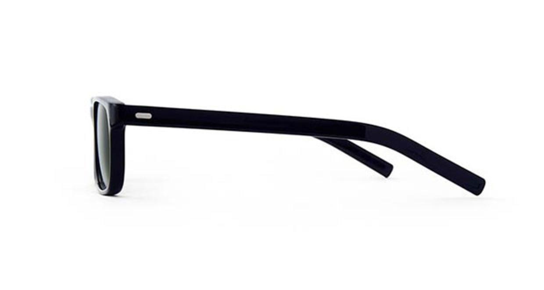TYPE Din Light Black Sunglasses [鯖江産/ウェリントン]  1
