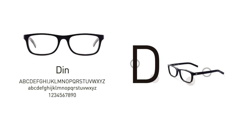 TYPE Din Light Black Sunglasses [鯖江産/ウェリントン]  3