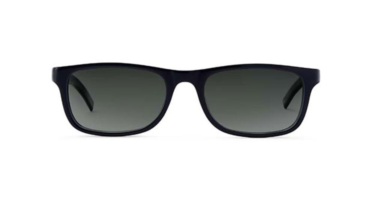 TYPE Din Regular Black Sunglasses [鯖江産/ウェリントン]