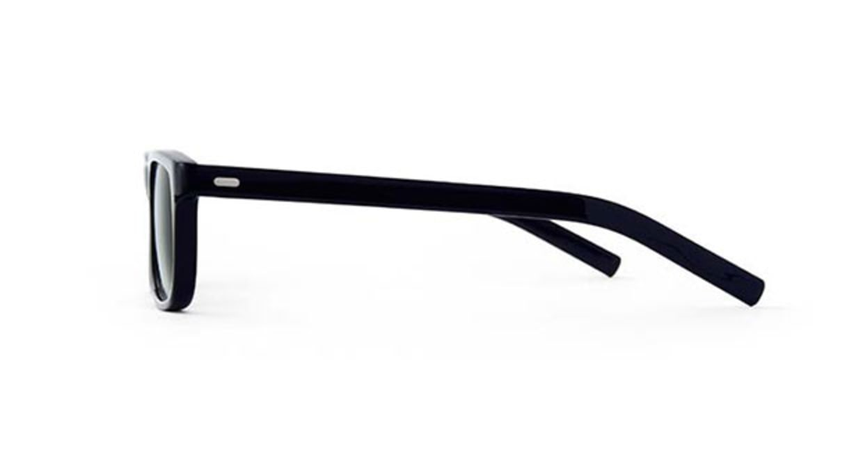 TYPE Din Regular Black Sunglasses [鯖江産/ウェリントン]  1