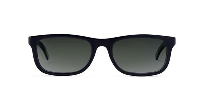 TYPE Din Bold Black Sunglasses [鯖江産/ウェリントン]