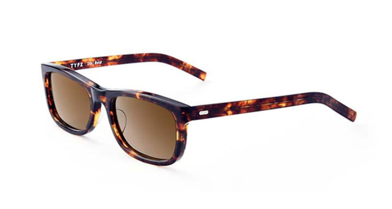 TYPE Din Bold Tortoise Sunglasses [鯖江産/ウェリントン]  2