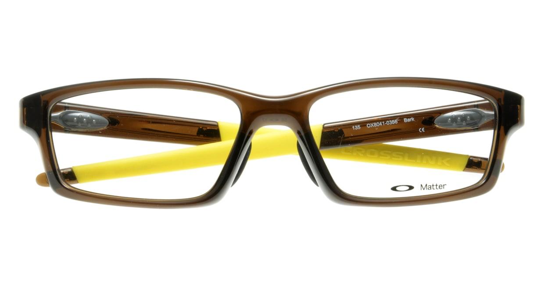 オークリー CROSSLINK PITCH OX8041-0356 [スクエア/茶色]  3