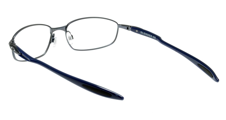 オークリー BLENDER 6B OX3162-0555 [メタル/スクエア/青]  2