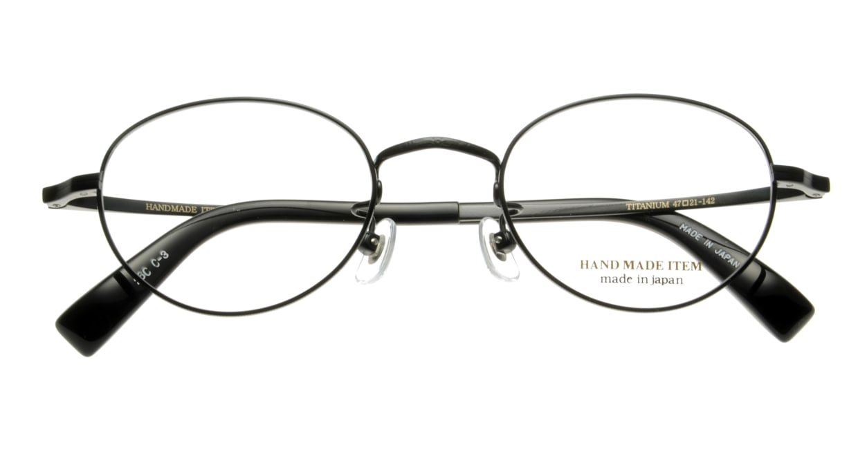 ハンドメイドアイテム H-3003-C-3-47 [メタル/鯖江産/丸メガネ]  3