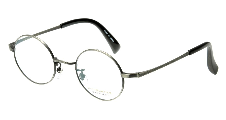 ハンドメイドアイテム H-3001-C-7-42 [メタル/鯖江産/丸メガネ/シルバー]