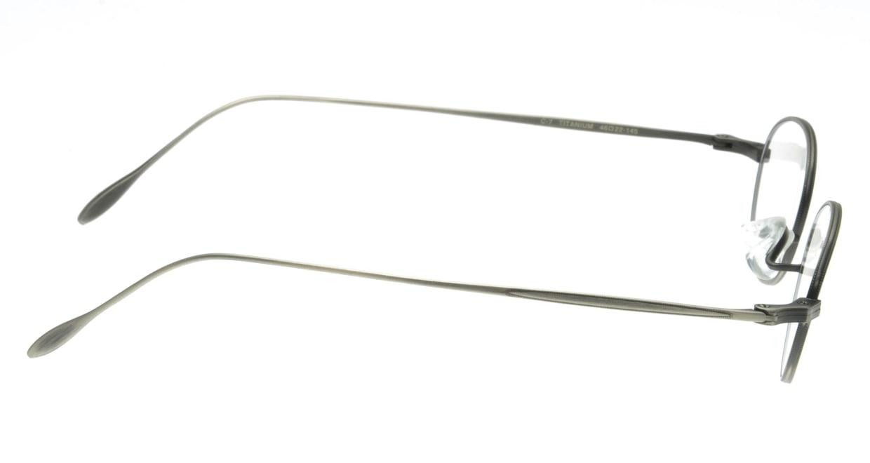 ハンドメイドアイテム H-429-C-7-46 [メタル/鯖江産/丸メガネ/シルバー]  1