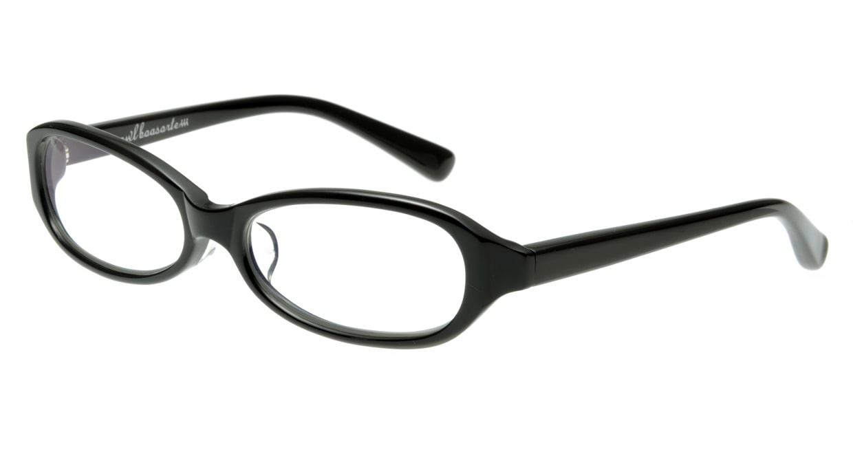 オウル boasorte zen-BS009-1.LAMP BLACK [黒縁/フォックス]