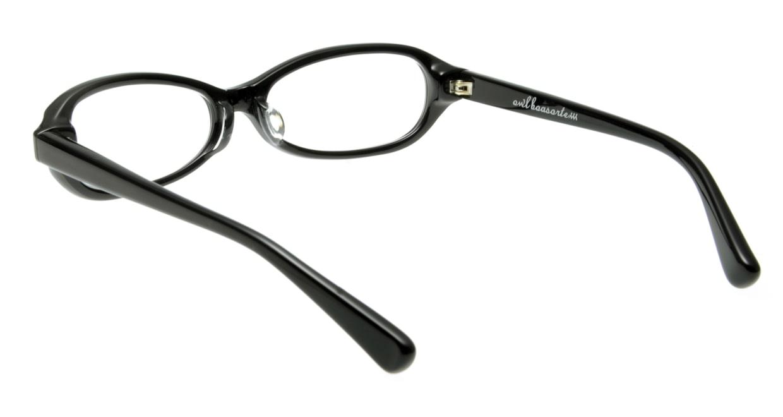 オウル boasorte zen-BS009-1.LAMP BLACK [黒縁/フォックス]  2