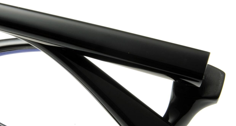 オウル boasorte zen-BS009-1.LAMP BLACK [黒縁/フォックス]  4
