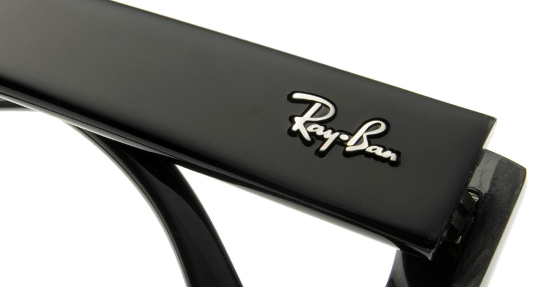 レイバン RX5220-2000-55 [黒縁/スクエア]  4