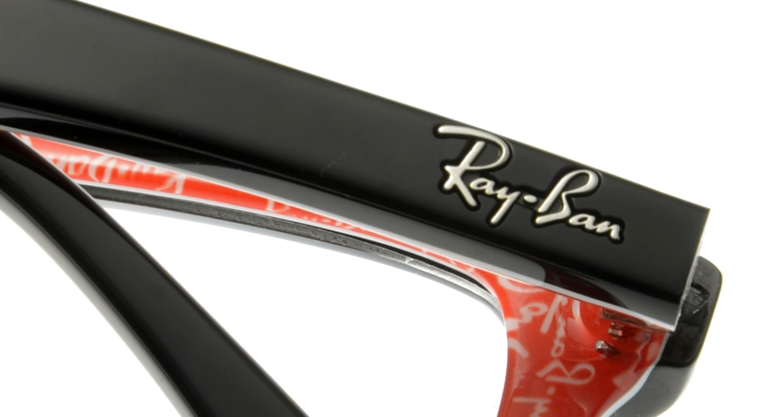 レイバン RX5228F-2479-55 [黒縁/ウェリントン]  4