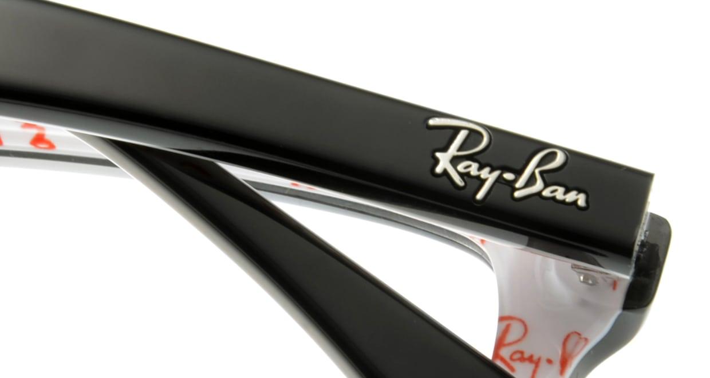 レイバン RX5228F-5014-55 [黒縁/ウェリントン]  4