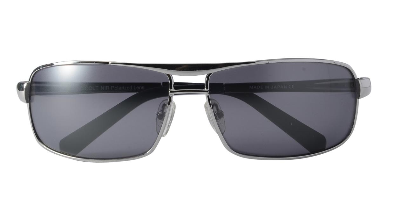 ディロン Drake-Black NIR lens [メタル/鯖江産/スクエア]  3
