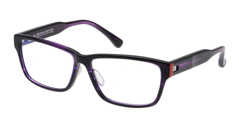 オウル boasorte Stijl-BS030SP-3.PURPLE [ウェリントン/紫]