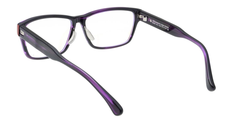 オウル boasorte Stijl-BS030SP-3.PURPLE [ウェリントン/紫]  2