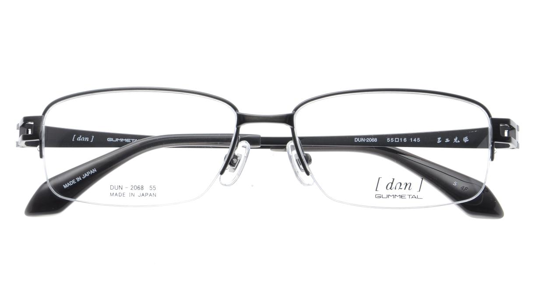 ドゥアン DUN-2068-5 [メタル/鯖江産/ハーフリム/スクエア/グレー]  3