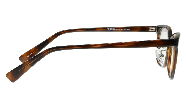 プラスオーエムジー ベース ヒューゴ omg-027-4 [ウェリントン/安い/茶色]  1